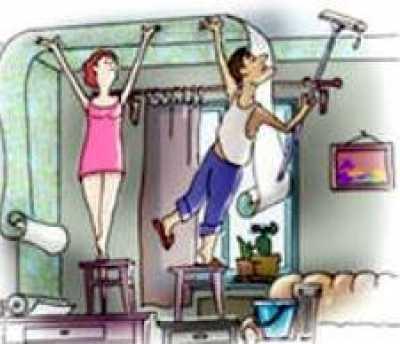 Дешевый косметический ремонт в съемной квартире